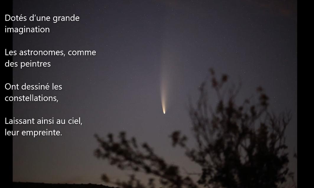 Pôle Poésie NEA Poème CARA Astronomie Auvergne