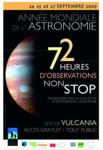 NEA 2009 -Collectif d'Astronomie de la Région Auvergne - Astronomie Auvergne