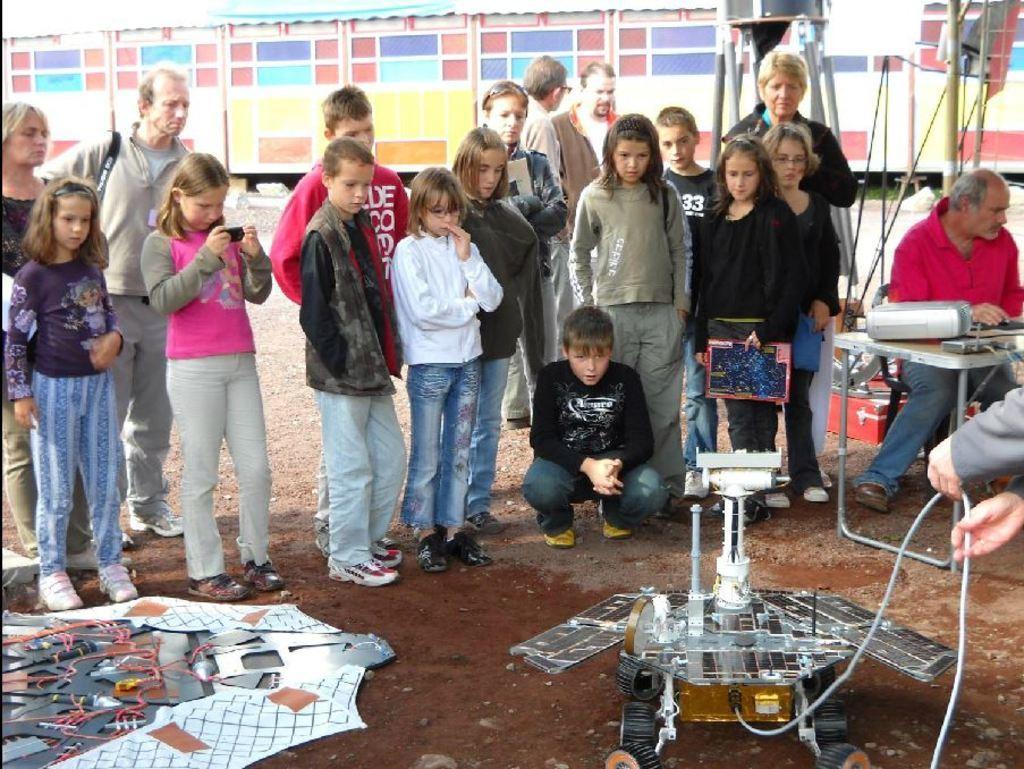 NEA2009 - CARA - Collectif d'Astronomie de la Région Auvergne - Astronomie Auvergne