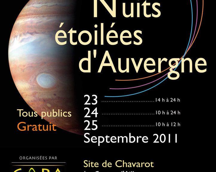 NEA2011 - Collectif d'Astronomie de la Région Auvergne - Astronomie Auvergne