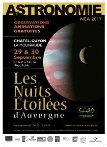 NEA2017 - Collectif d'Astronomie de la Région Auvergne - Astronomie Auvergne