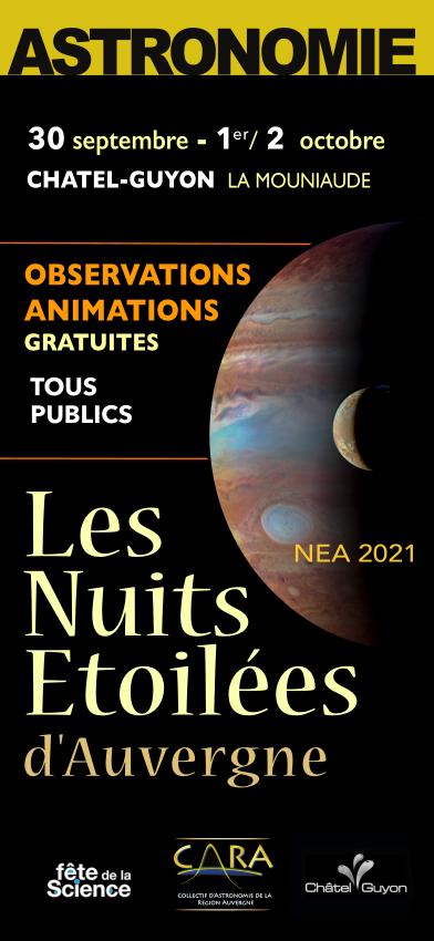 CARA NEA2021 Astronomie Auvergne